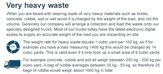 colliers wood rates of rubbish clearance